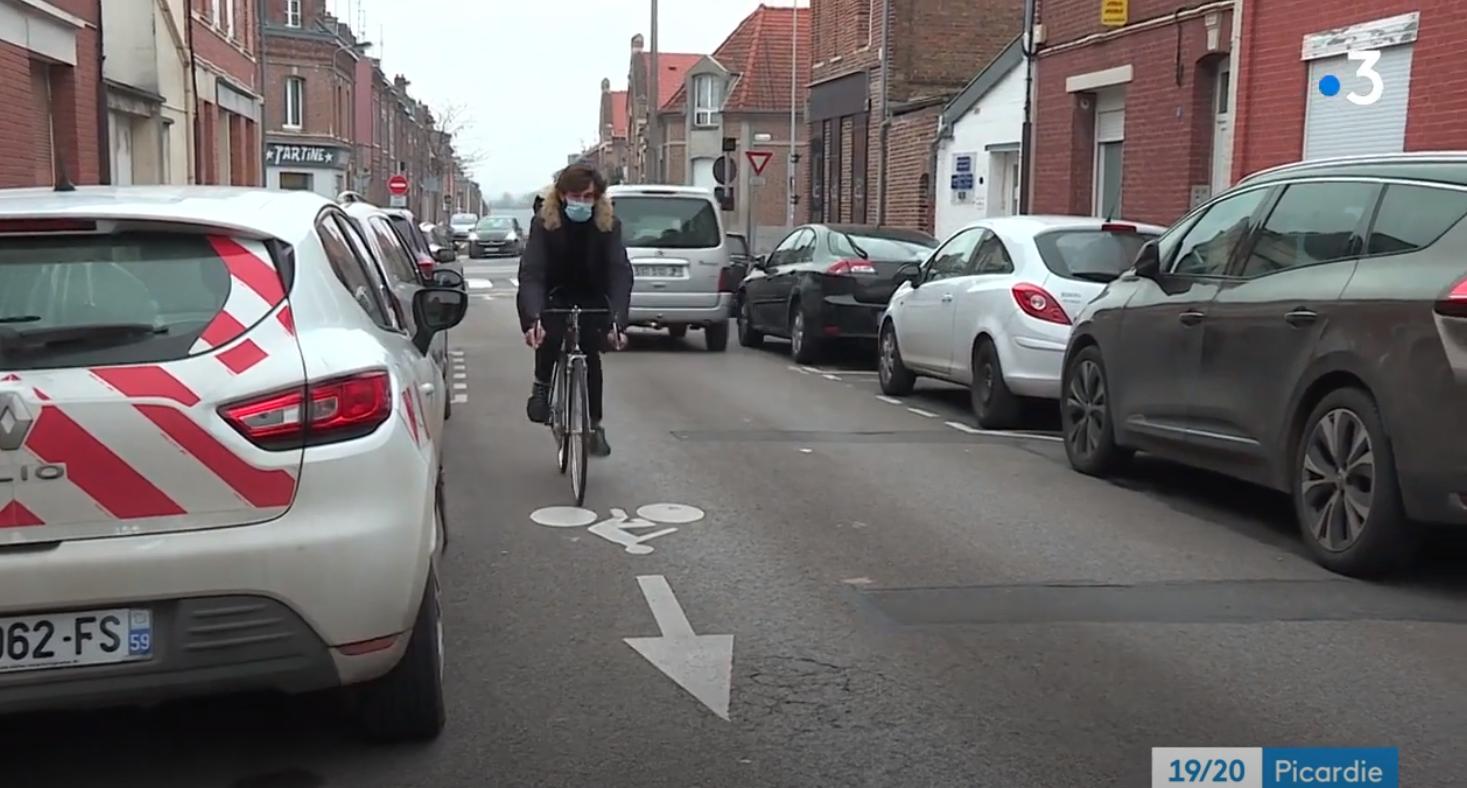 Amiens à vélo, entre patience et prudence?