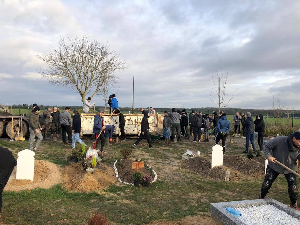 SOLIDAIRE: suite à l'inondation du carré musulman au cimetière St-Pierre, les habitants s'activent pour aider les familles