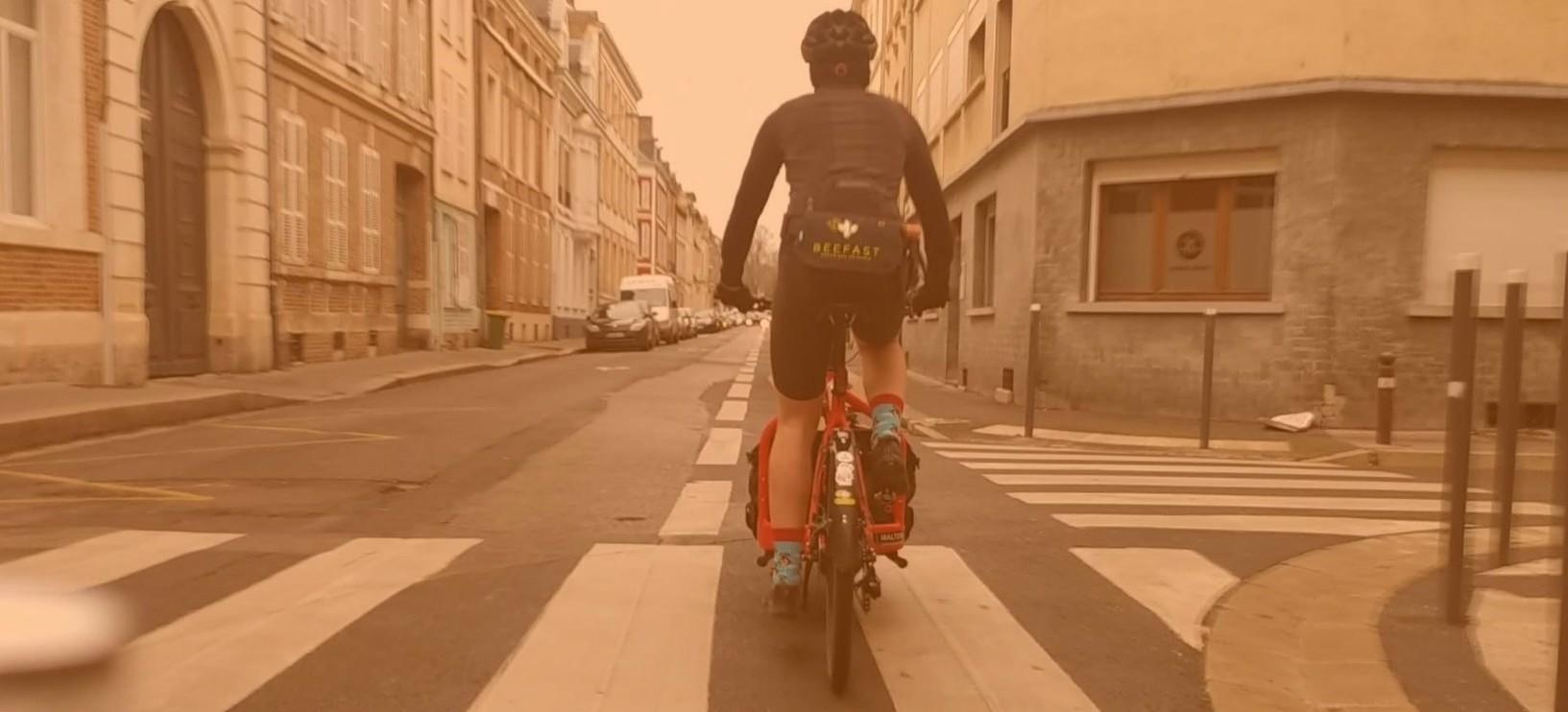Biclo: entre deux livraisons avec Antoine, coursier amiénois – épisode 2