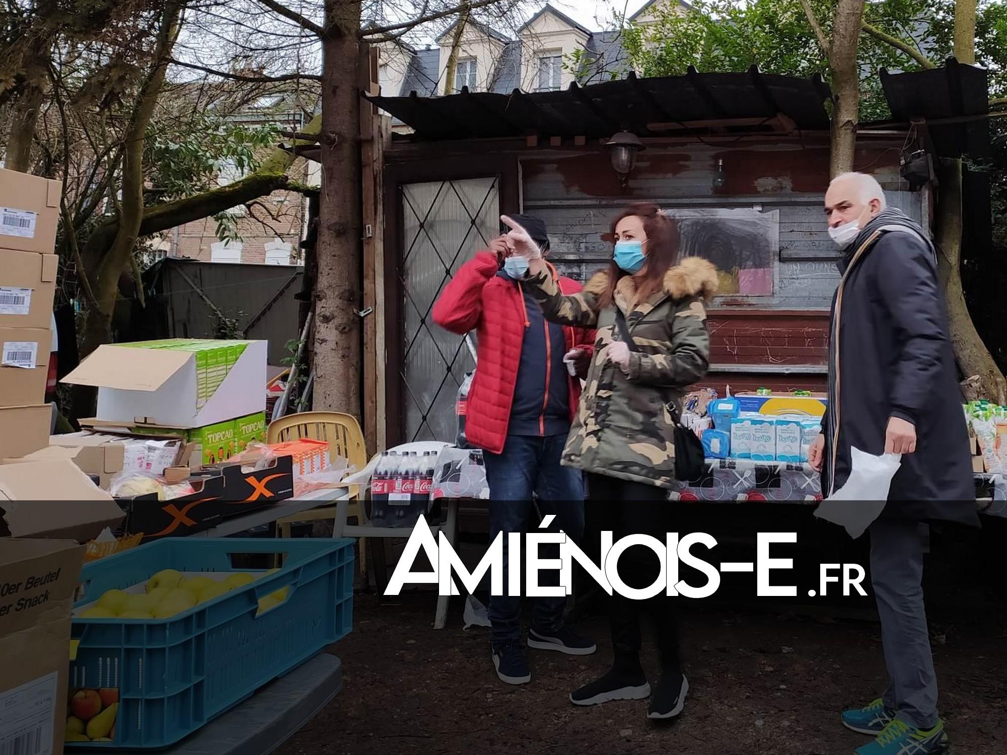 [SOLIDARITÉ] Distribution alimentaire au camp de Renancourt