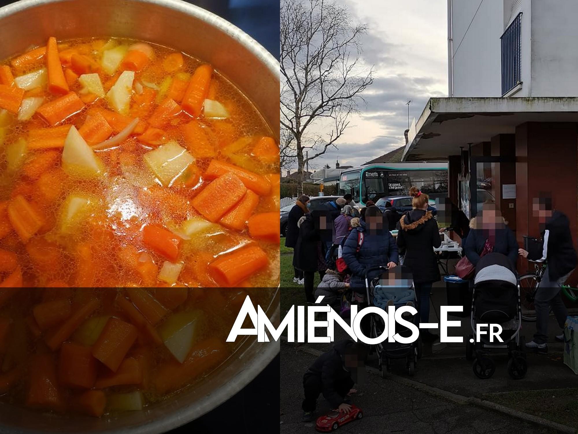 Carottes, oignons, convivialité et pommes de terre: CAPS organise une soupe solidaire