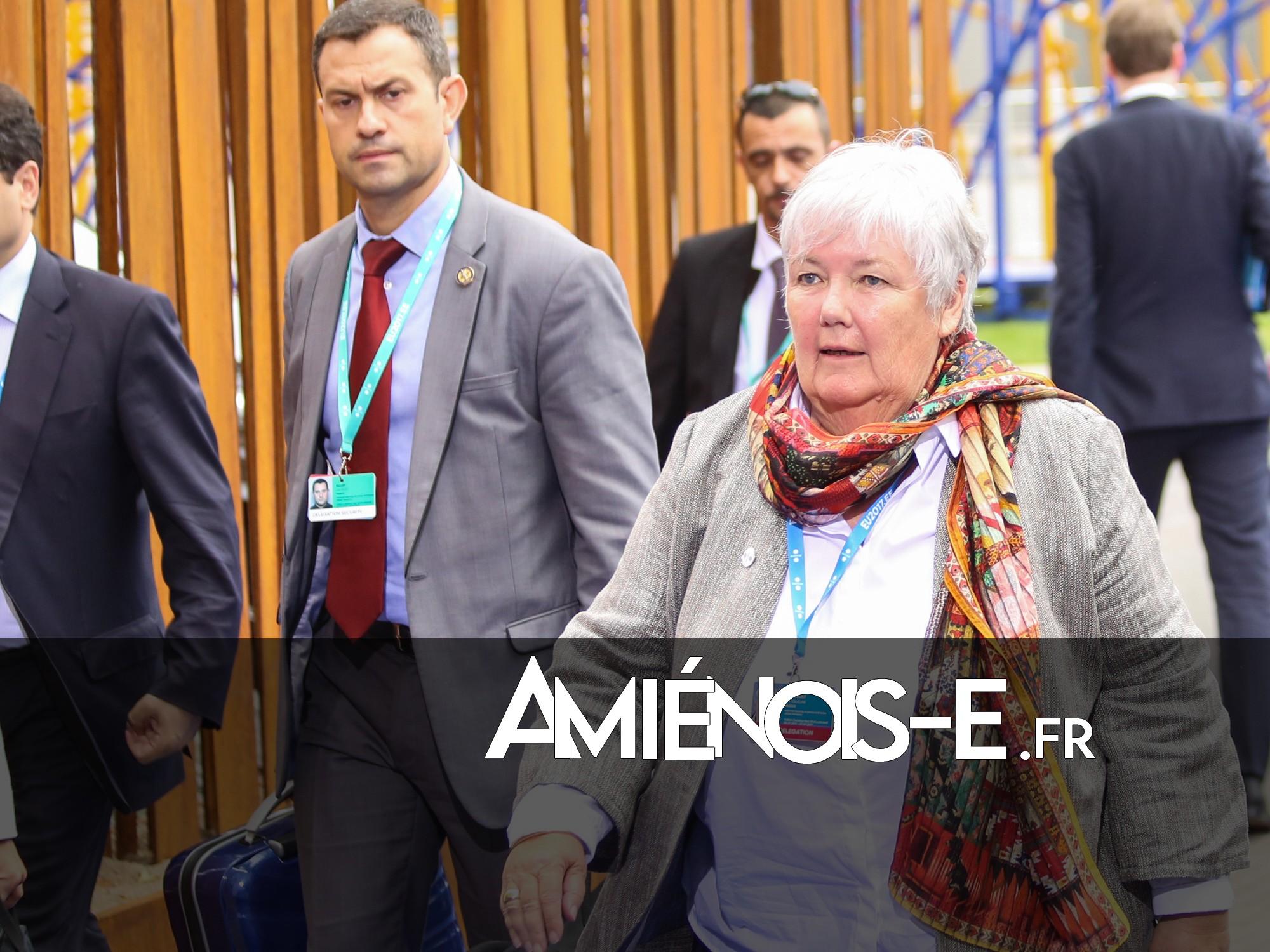 La ministre de la Cohésion des territoires en visite à Amiens