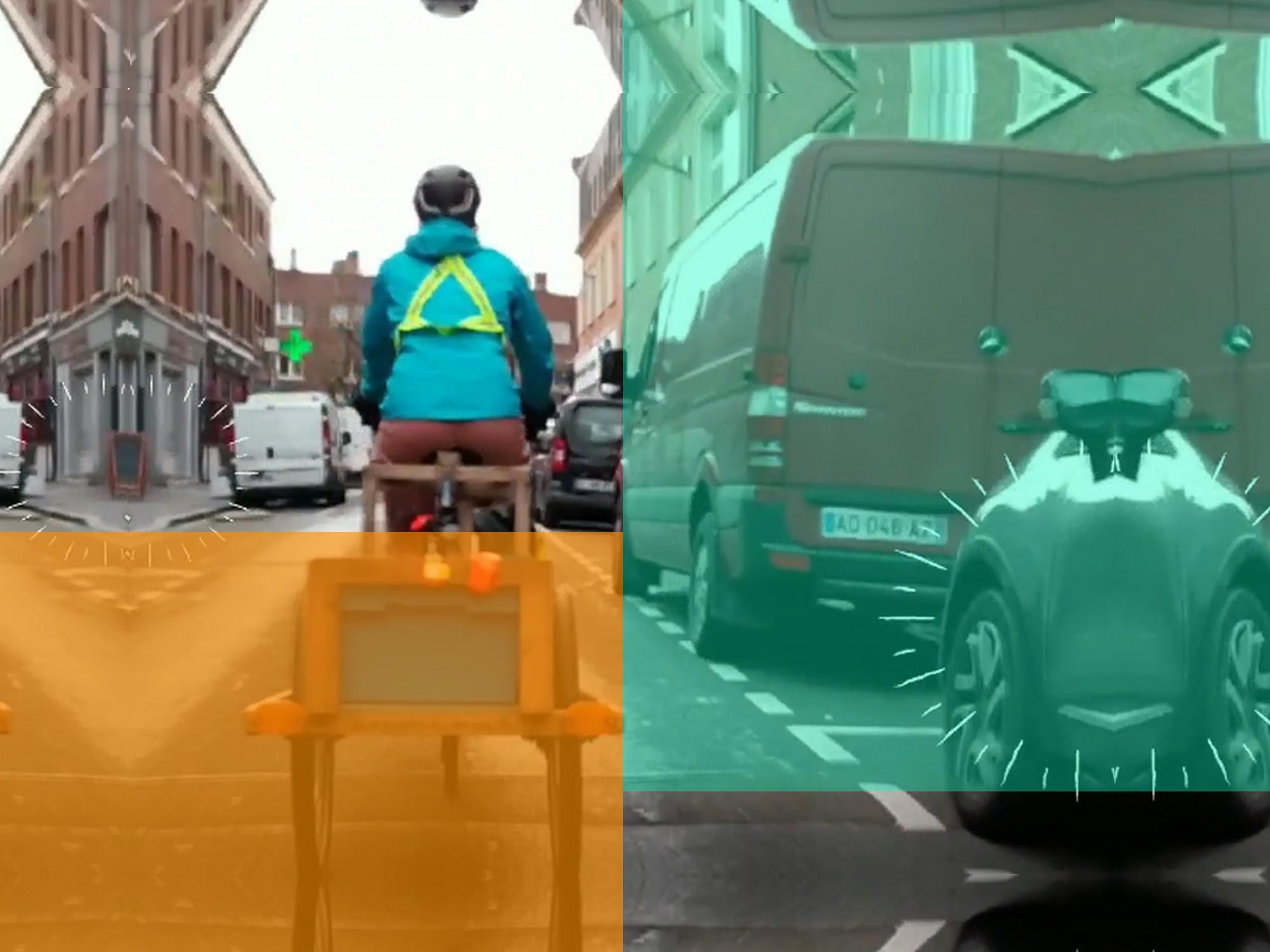 Biclo avec Les Recyclettes: collecter les déchets à vélo, sacré boulot à Amiens- épisode 3