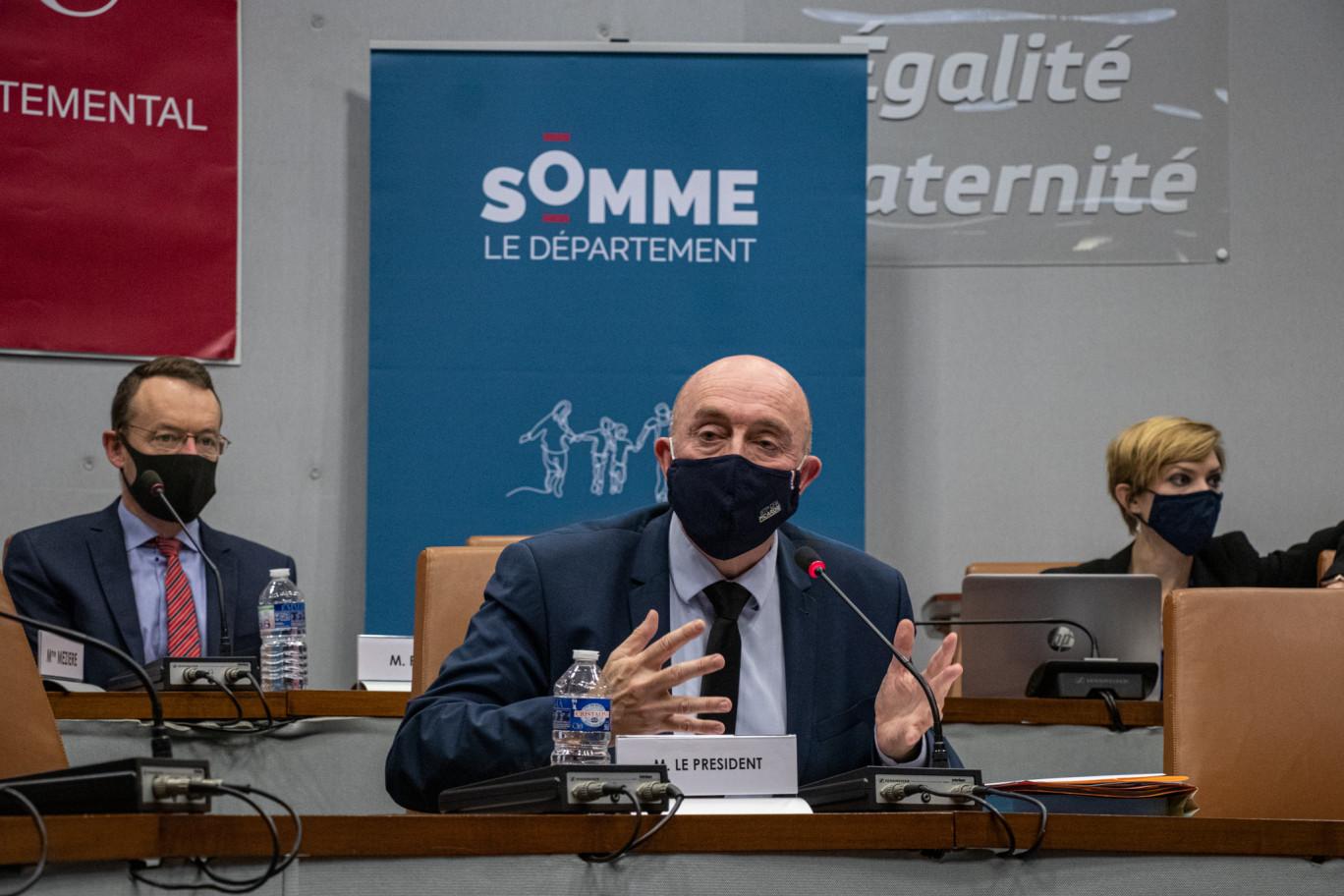 Stéphane Haussoulier réélu président du Conseil départemental de la Somme