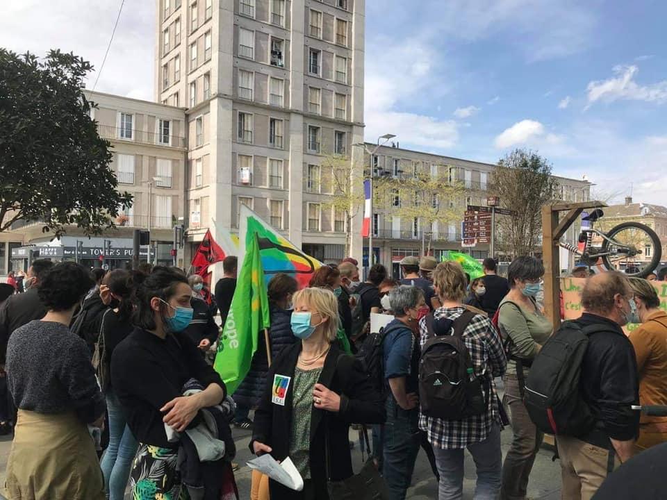 [AMIENS] Plusieurs centaines de personnes à la Marche pour le Climat