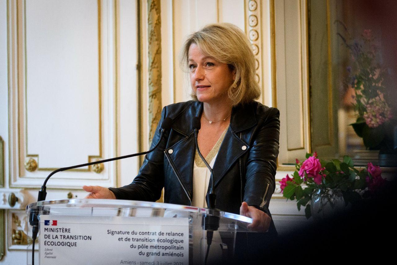 La ministre Barbara Pompili à Amiens pour la signature du Contrat de Relance de Transition Ecologique (CRTE)
