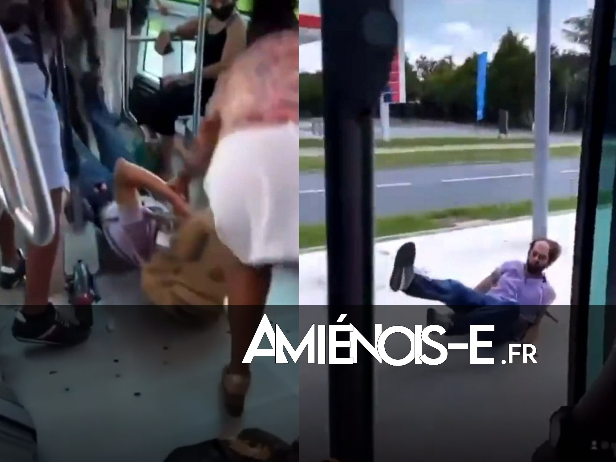 Racisme et violence, une dispute dans le bus dégénère: il le sort par les pieds